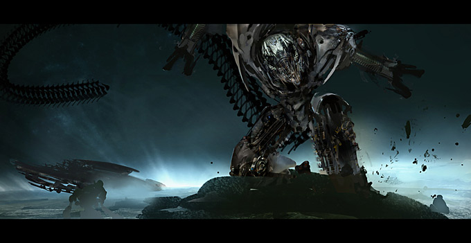 Transformers Dark of the Moon Concept Art by Joel Chang 05a