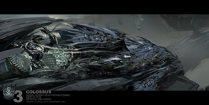 Transformers Dark of the Moon Concept Art by Joel Chang 12a