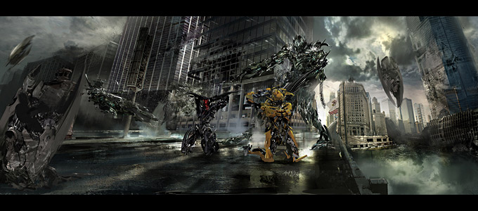Transformers Dark of the Moon Concept Art by Joel Chang 14a
