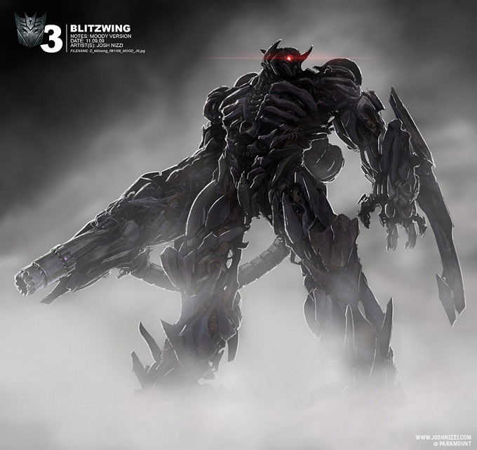 Transformers Dark of the Moon Concept Art by Josh Nizzi 11a