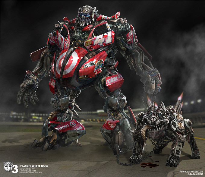 Transformers Dark of the Moon Concept Art by Josh Nizzi 27a