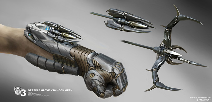 Transformers Dark of the Moon Concept Art by Josh Nizzi 39a