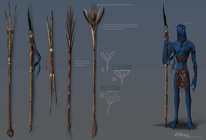 Avatar Concept Art by Craig Shoji 06a