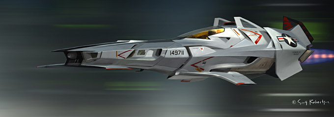 BLAST Spaceship Sketches and Renderings 09a