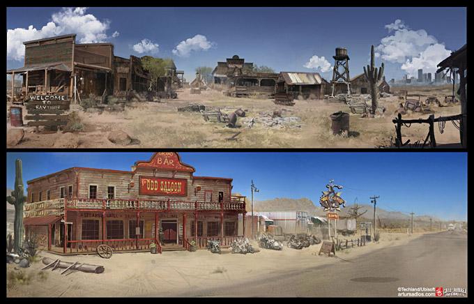Call of Juarez The Cartel Concept Art 18a
