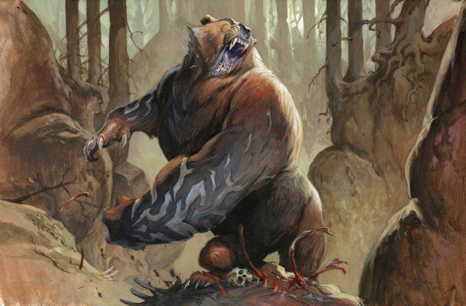 Jesper Ejsing Art Illustration Steelclaw Bear