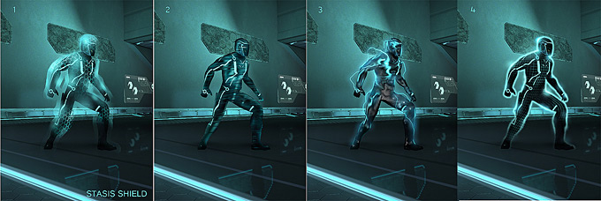 Tron Evolution Concept Art by Daryl Mandryk 01a