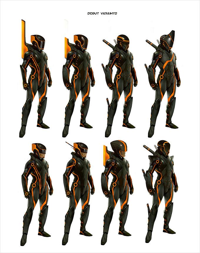 Tron Evolution Concept Art by Daryl Mandryk 04a