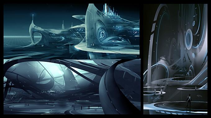 Tron Evolution Concept Art by Daryl Mandryk 06a