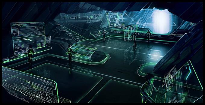 Tron Evolution Concept Art by Daryl Mandryk 08a