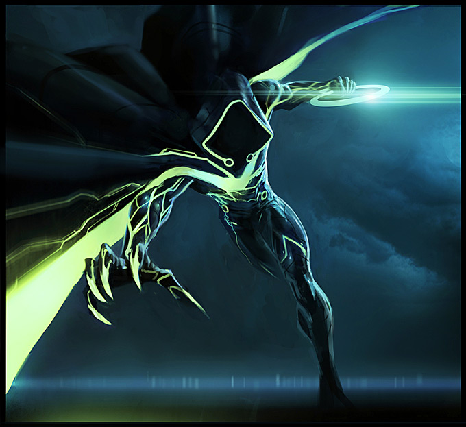 Tron Evolution Concept Art by Daryl Mandryk 09a
