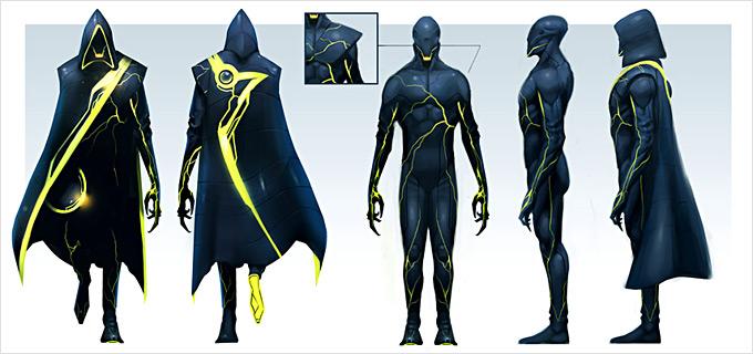 Tron Evolution Concept Art by Daryl Mandryk 10a