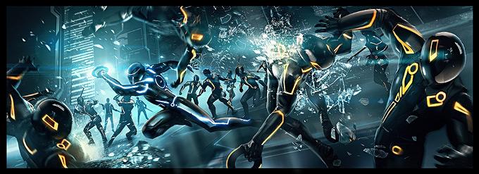 Tron Evolution Concept Art by Daryl Mandryk 12a