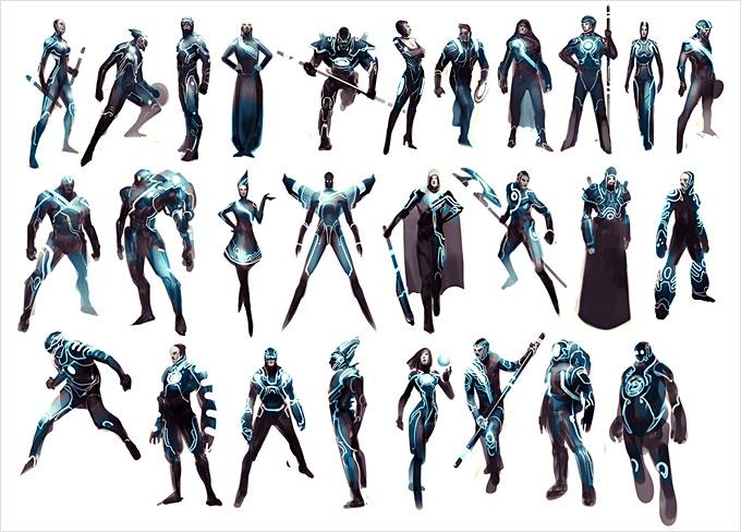 Tron Evolution Concept Art by Daryl Mandryk 13a