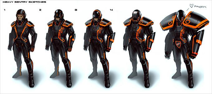 Tron Evolution Concept Art by Daryl Mandryk 18a