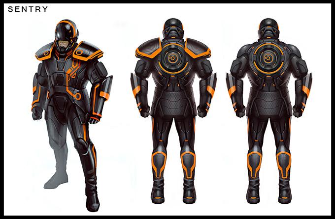 Tron Evolution Concept Art by Daryl Mandryk 19a