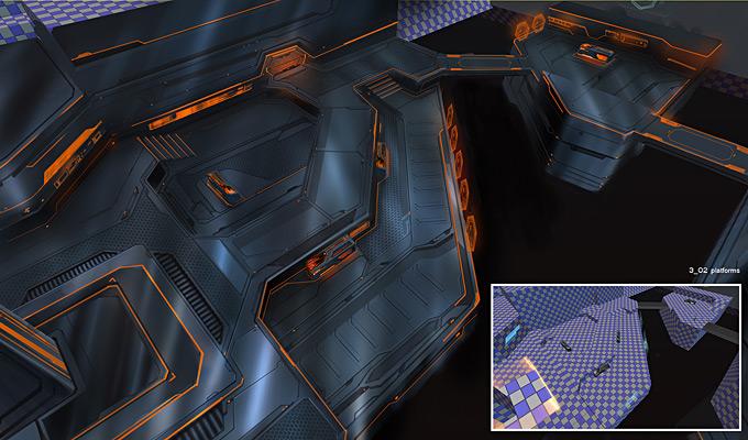Tron Evolution Concept Art by Daryl Mandryk 20a