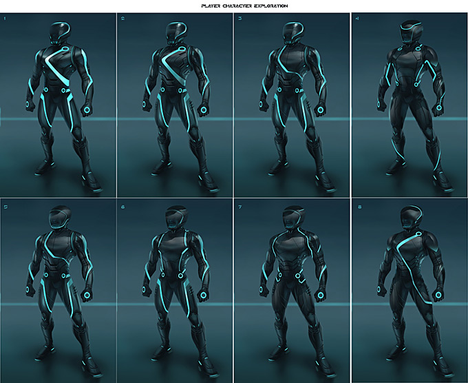 Tron Evolution Concept Art by Daryl Mandryk 21a