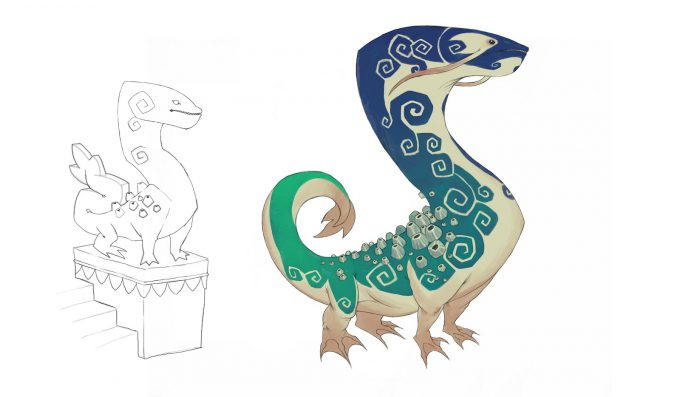 Mike Franchina Concept Art Water Guardian