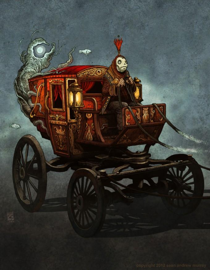 Sean_Andrew_Murray_Art_illustration_Pythian_Order_Carriage