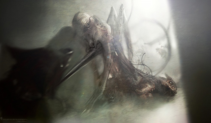 The Thing Concept Art by The Aaron Sims Co 03a
