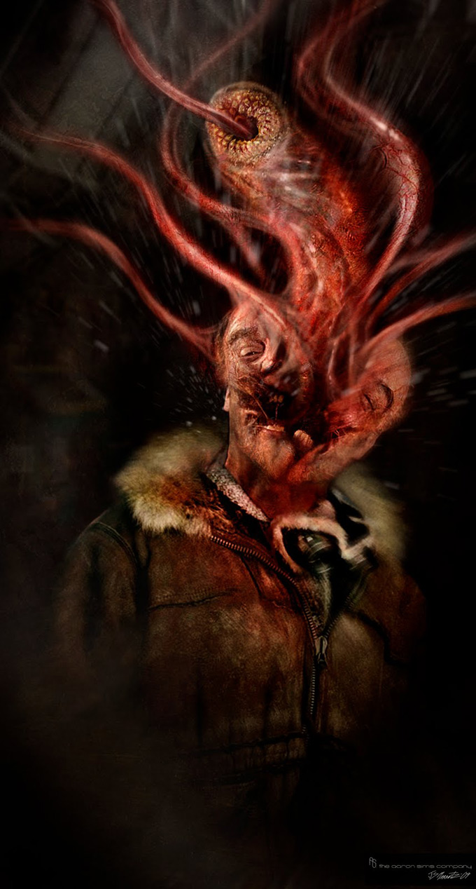 The Thing Concept Art by The Aaron Sims Co 05a