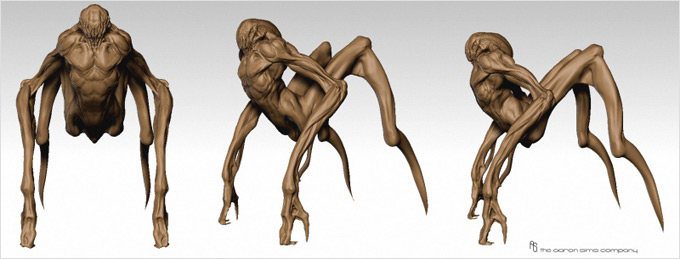 The Thing Concept Art by The Aaron Sims Co 06a