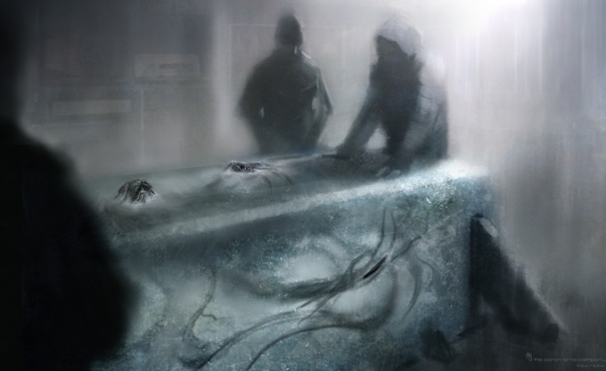 The Thing Concept Art by The Aaron Sims Co 07a