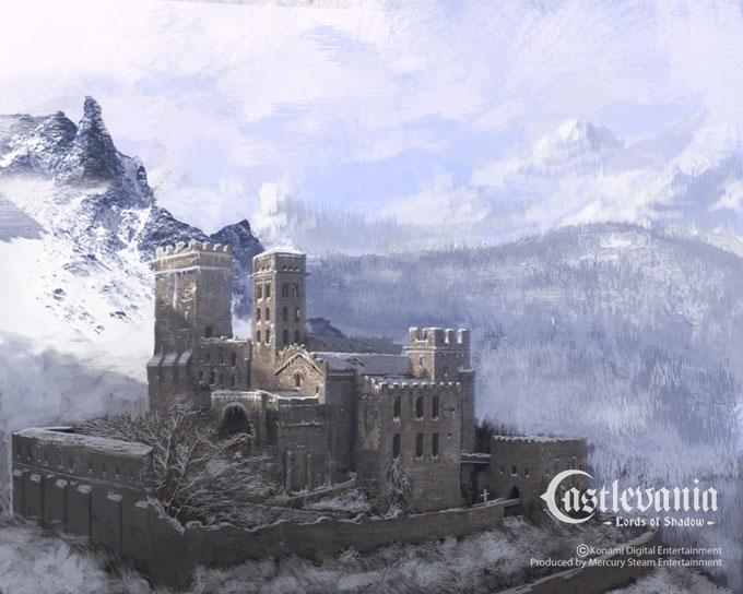 Castlevania Concept Art Diego Gisbert Llorens 012a