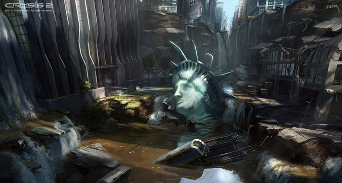 Crysis 2 Concept Art by Viktor Jonsson 09a