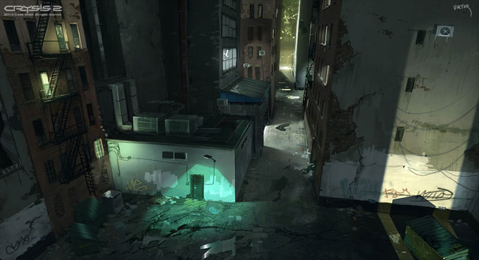Crysis 2 Concept Art by Viktor Jonsson 12a