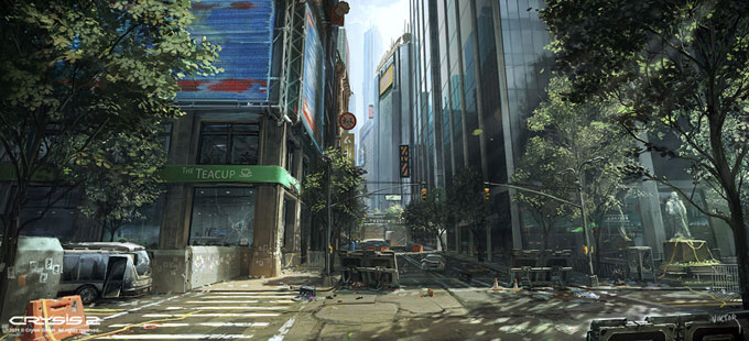 Crysis 2 Concept Art by Viktor Jonsson 15a