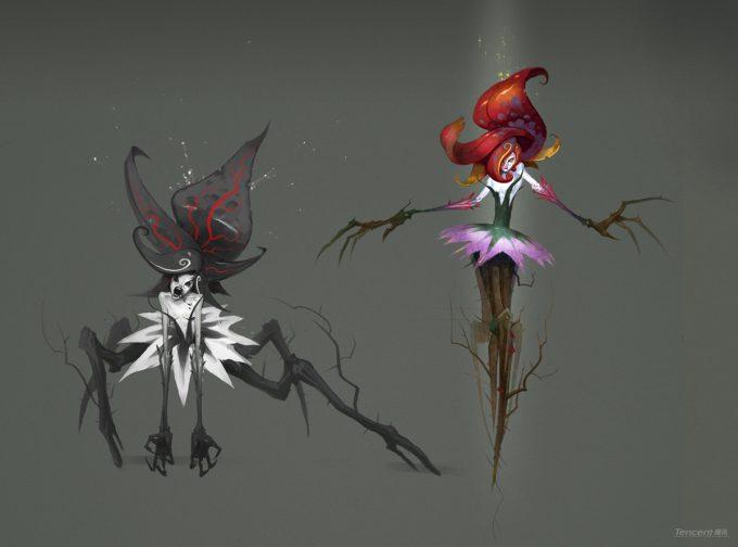 Den Yang Ho concept art Plant Creature final3