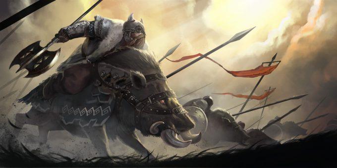 Den Yang Ho concept art dwarf victory