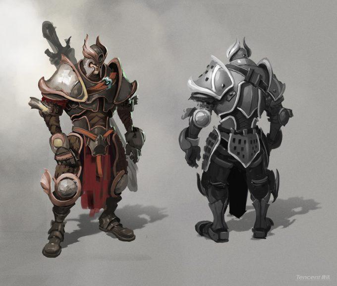 Den Yang Ho concept art heavy warrior