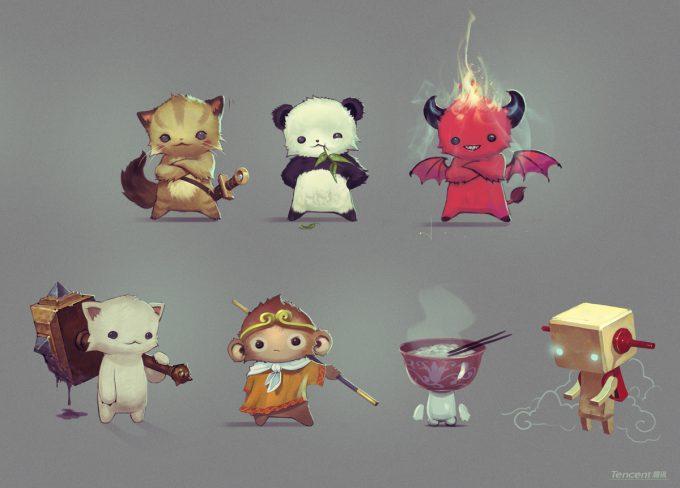 Den Yang Ho concept art petz