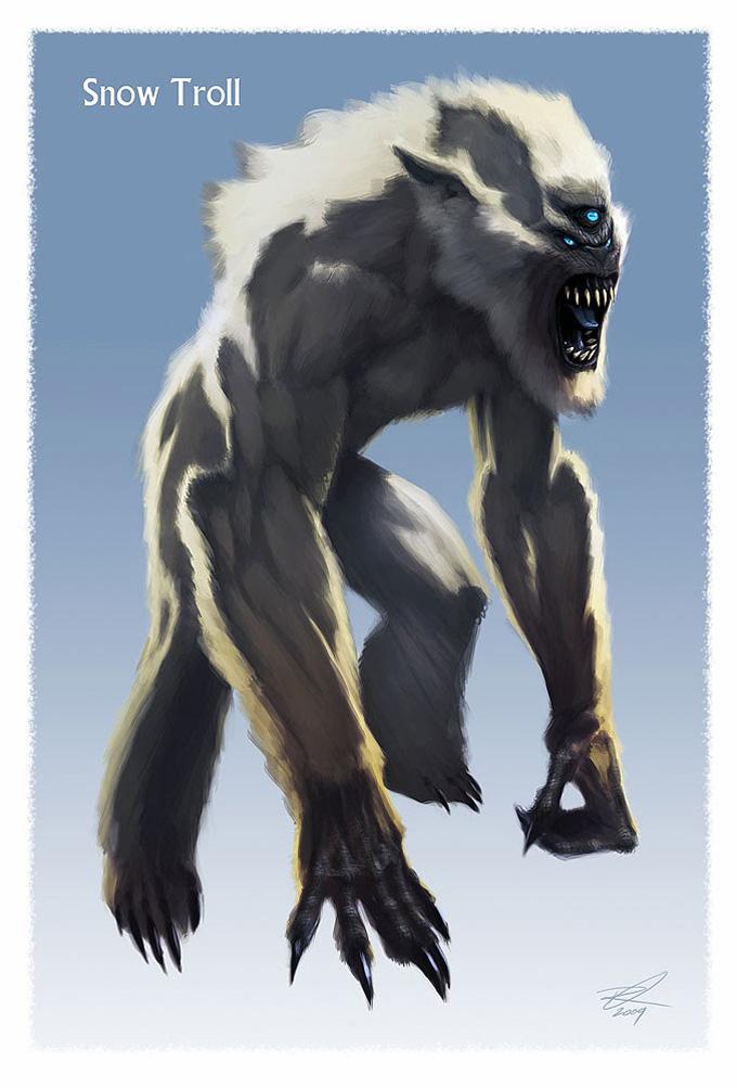 Elder_Scrolls_V-Skyrim_Concept_Art_Ray_Lederer_Snow_Troll