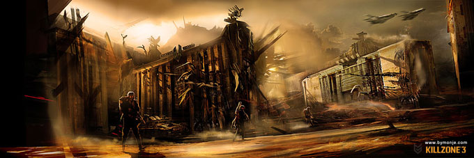 Killzone 3 Concept Art Miguel Angel Martinez 07a