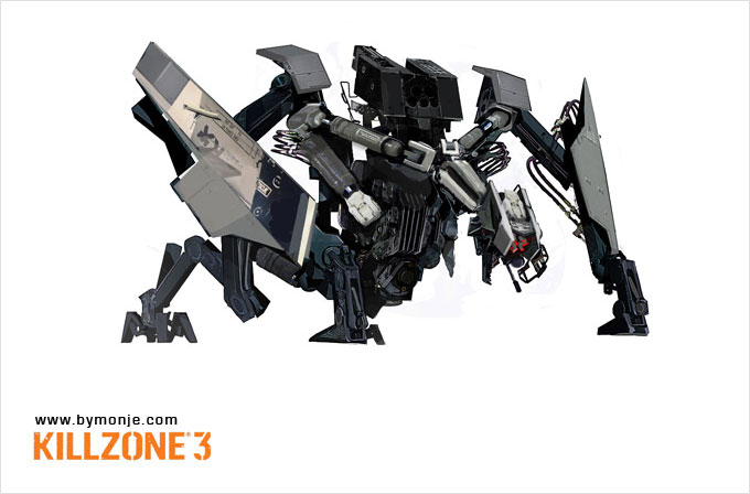 Killzone 3 Concept Art Miguel Angel Martinez 12a