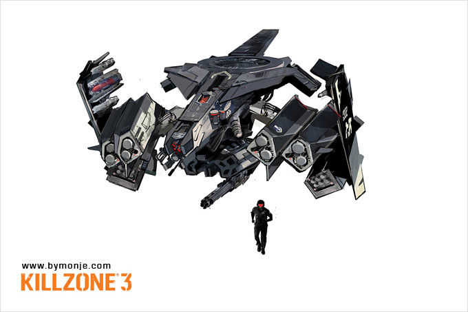 Killzone 3 Concept Art Miguel Angel Martinez 14a