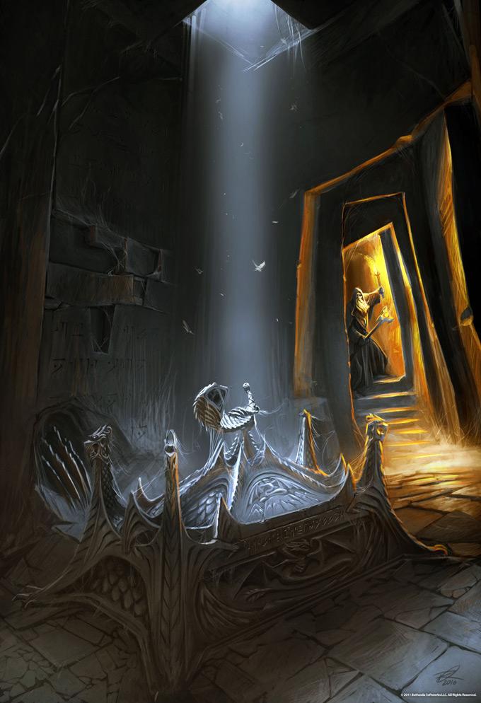 The Elder Scrolls V Skyrim Concept Art Ray Lederer 02a