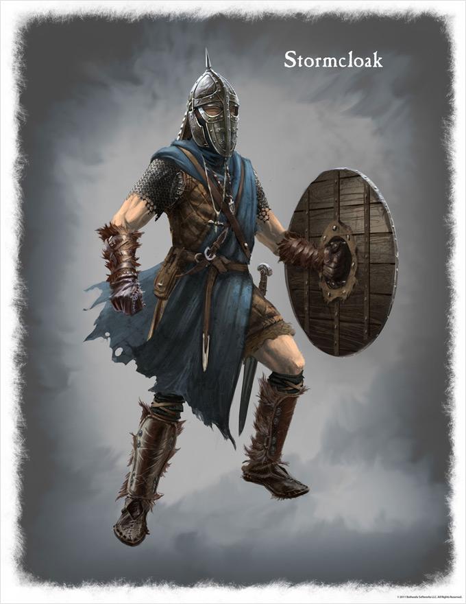 The Elder Scrolls V Skyrim Concept Art Ray Lederer 05a