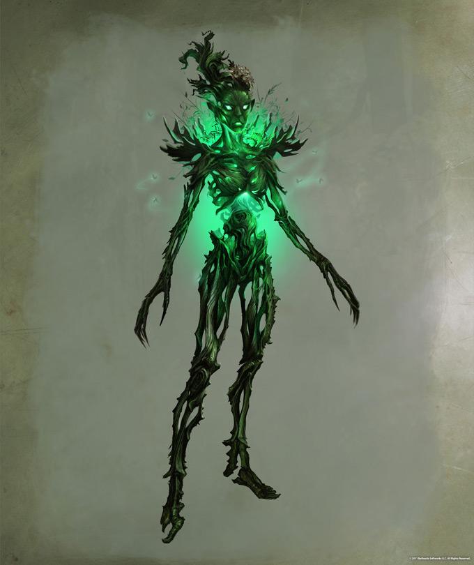 The Elder Scrolls V Skyrim Concept Art Ray Lederer 06a