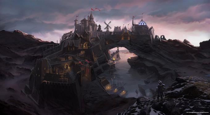 The Elder Scrolls V Skyrim Concept Art Ray Lederer 07a
