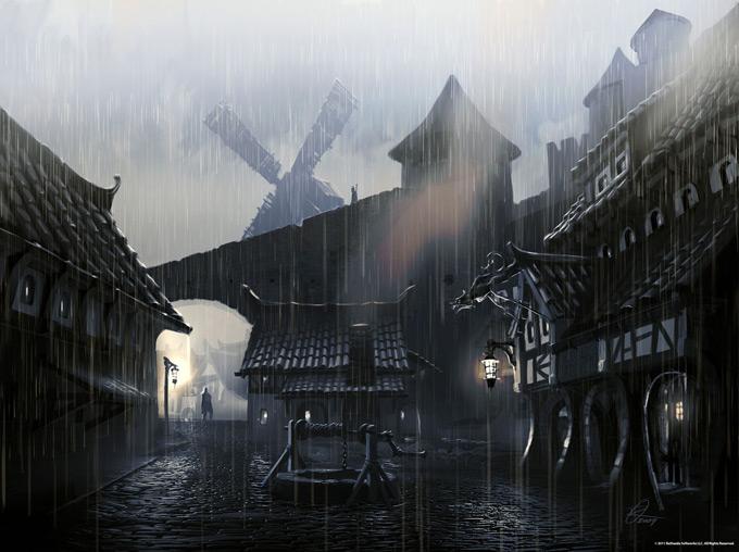 The Elder Scrolls V Skyrim Concept Art Ray Lederer 08a