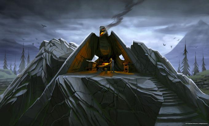 The Elder Scrolls V Skyrim Concept Art Ray Lederer 09a