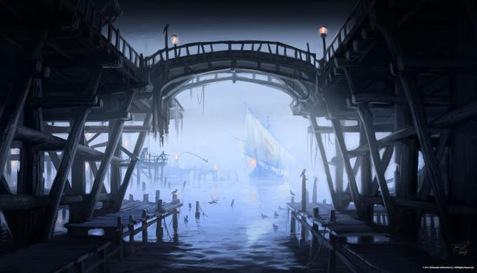 The Elder Scrolls V Skyrim Concept Art Ray Lederer 10a