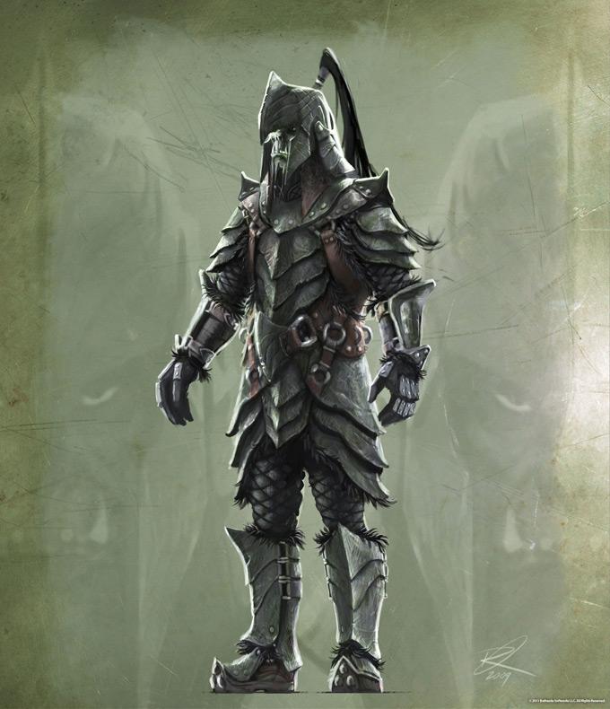 The Elder Scrolls V Skyrim Concept Art Ray Lederer 11a