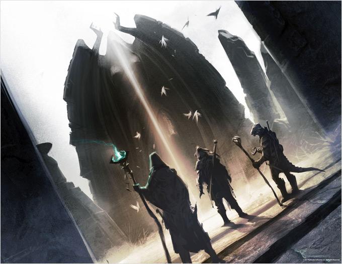 The Elder Scrolls V Skyrim Concept Art Ray Lederer 12a