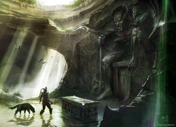 The Elder Scrolls V Skyrim Concept Art Ray Lederer 13a